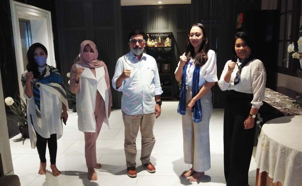 Pengurus Rotary Club of Surabaya Kaliasin menggelar silaturrahmi dengan Calon Wali Kota Surabaya Irjen Pol (Purn) Machfud Arifin dan istrinya Ny Lita Machfud Arifin