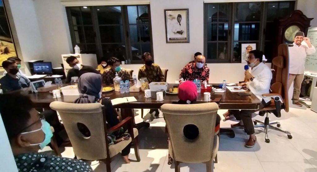 Calon Wali Kota Machfud Arifin bersama Forum Komunikasi Pengelola Objek Wisata Surabaya