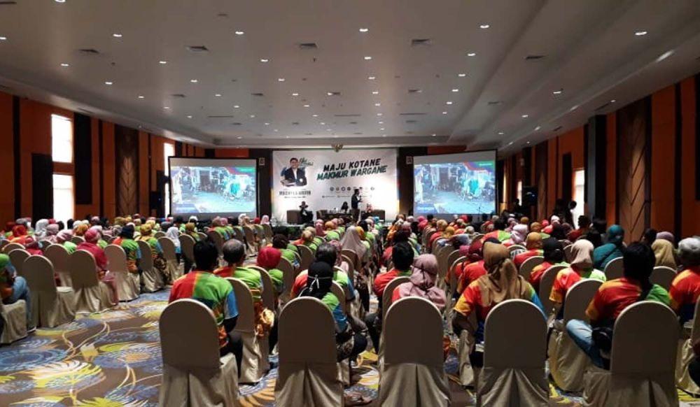 Para pelaku UMKM di Surabaya deklarasi dukung Calon Wali Kota Machfud Arifin