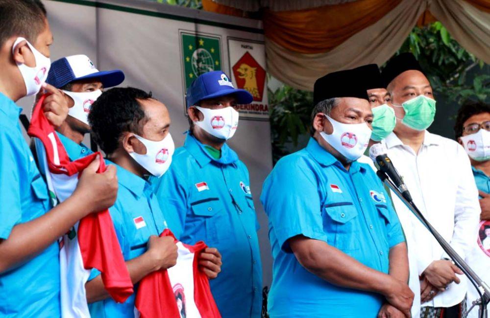 Partai Gelora memberikan surat dukungan untuk pasangan QA di Pilkada Gresik 2020