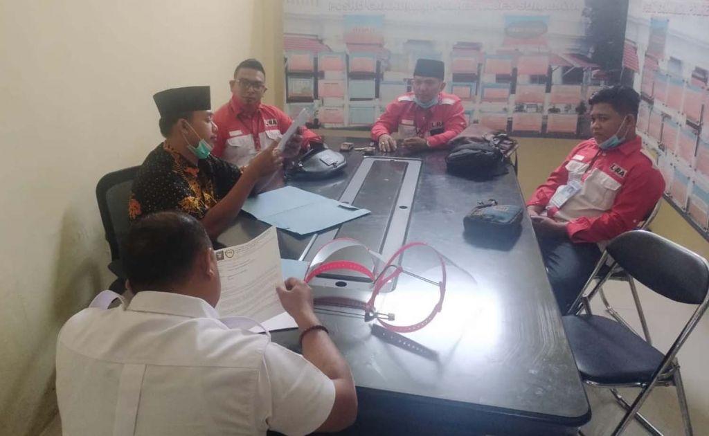 DPD LIRA Surabaya melapor ke Bawaslu