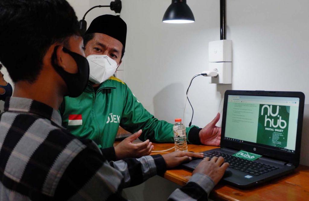 Peluncuran aplikasi NU Hub Digital Valley di Surabaya