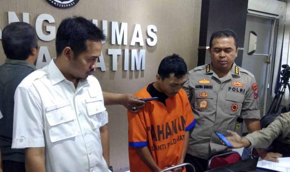 Pembina Pramuka yang cabuli 15 anak didiknya ditangkap Polda Jatim