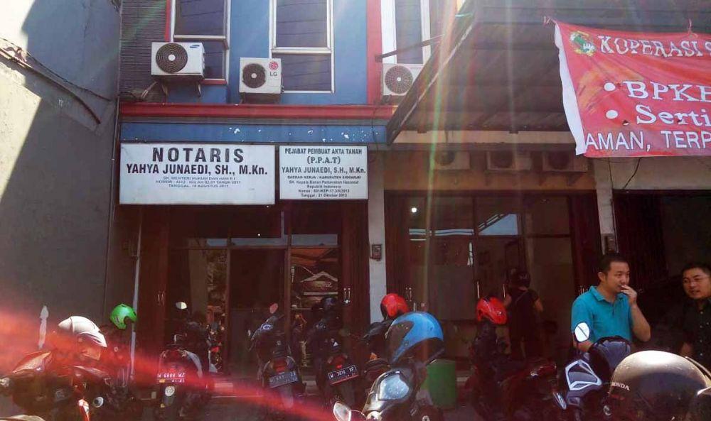 Dua kantor yang dibobol komplotan pencuri