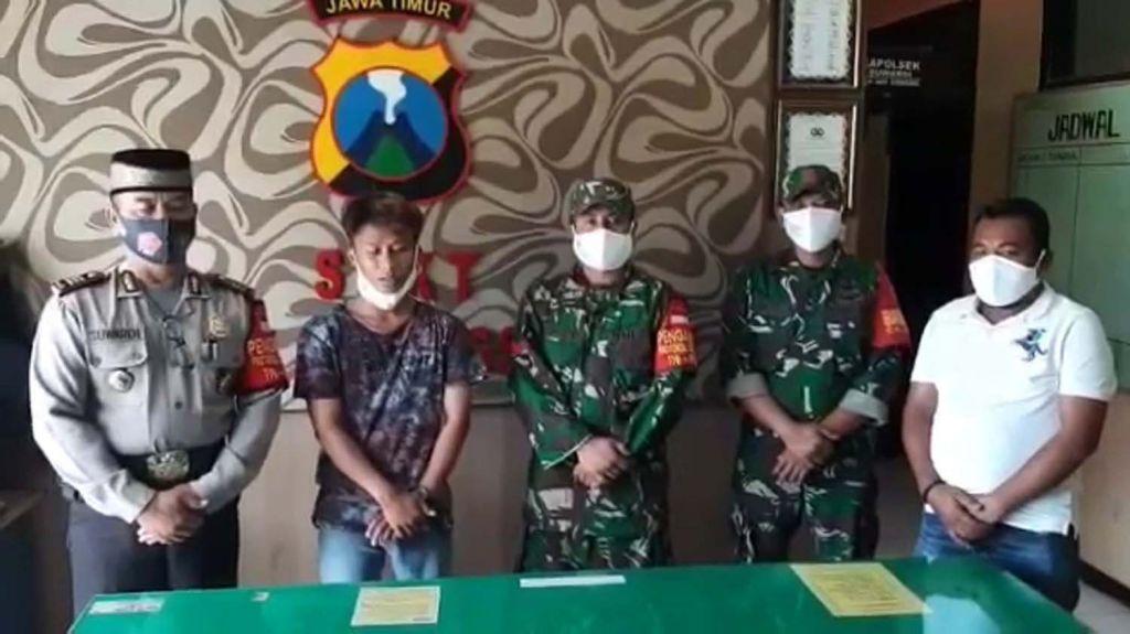 Pemuda yang menyerang anggota TNI di Sumenep akhirnya meminta maaf