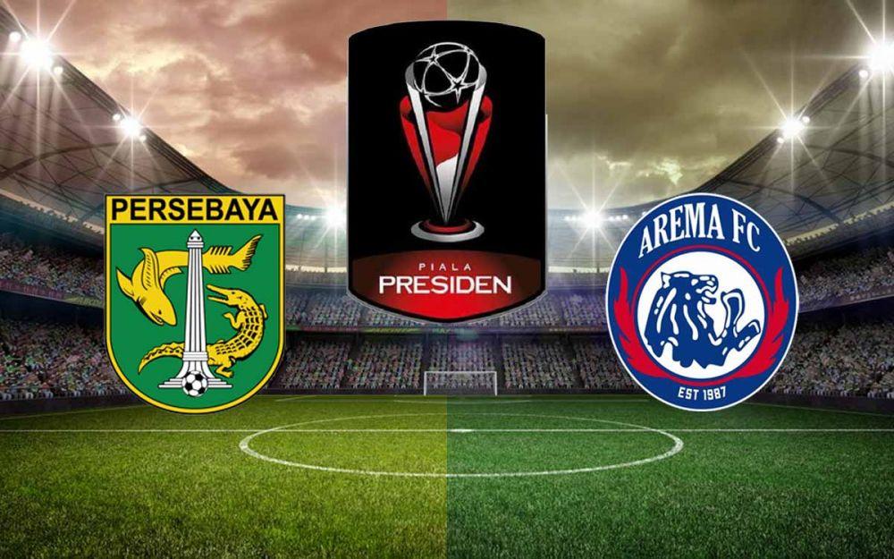 Kesepakatan 'Keramat' Bonek-Aremania Berlaku di Final Piala Presiden
