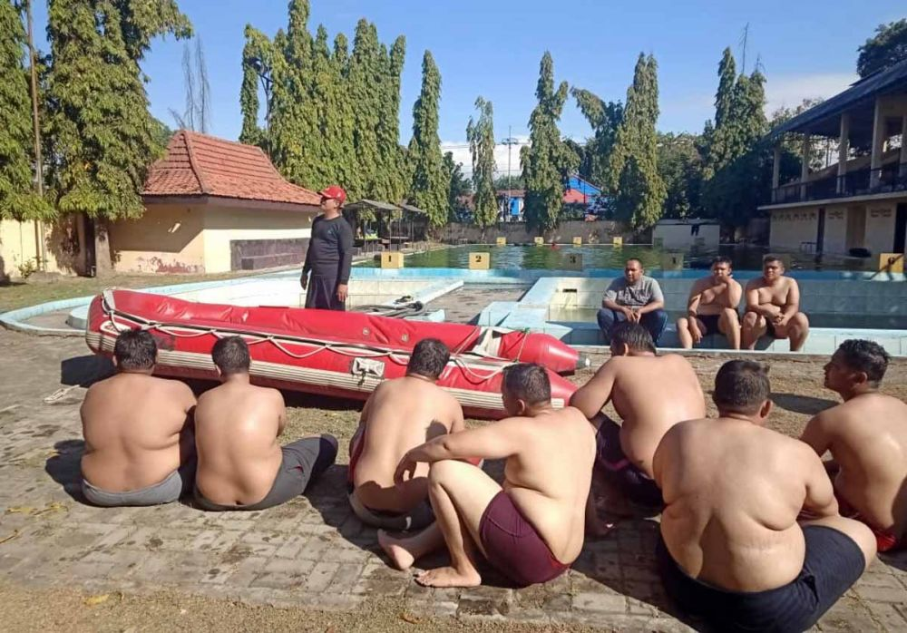 Polisi polisi gendut Polda Jatim