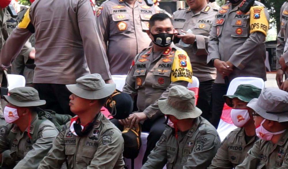 Napak tilas di Bumi Majapahit dipimpin Kapolda Jatim M Fadil Imran