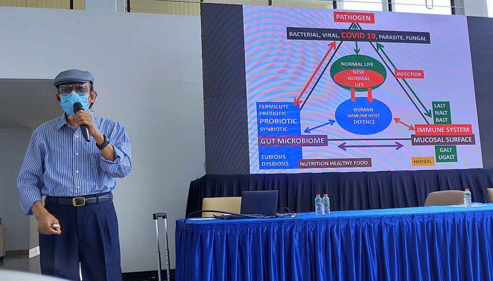 Guru Besar Fakultas Kedokteran Unair, Prof. Subijanto Marto Sudarmo