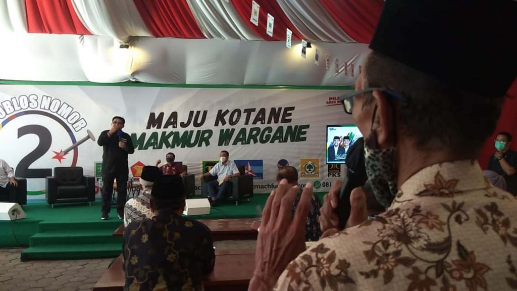 Para purnawirawan TNI AL di Surabaya siap menangkan Machfud Arifin-Mujiaman