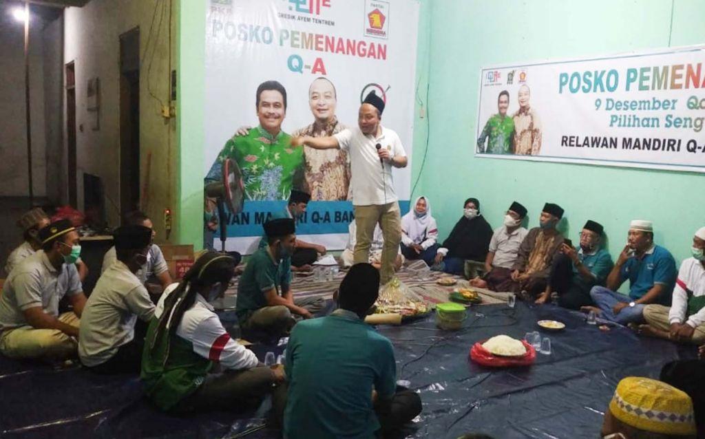 Alif blusukan ke Desa Banjarsari, Kecamatan Cerme