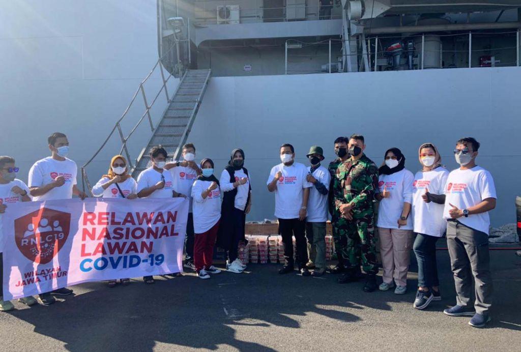 RNLC kirim ratusan paket sembako untuk warga Pulau Bawean