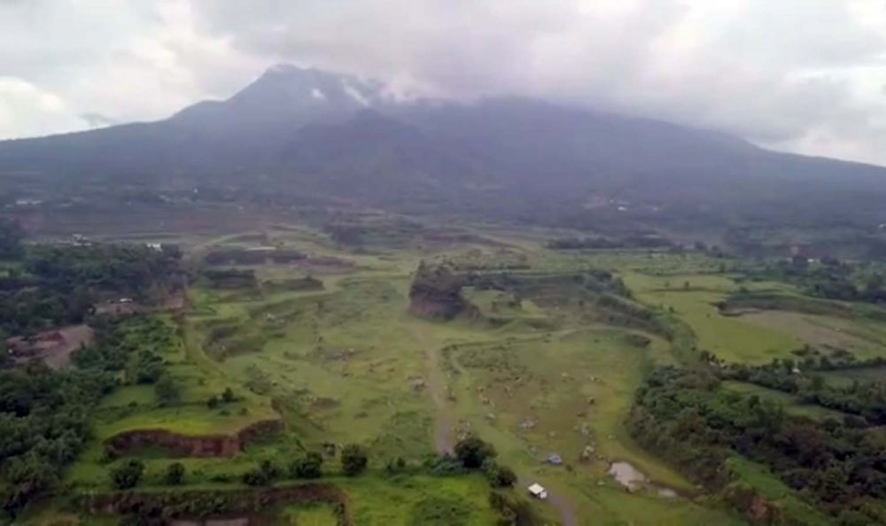 Penampakan Ranu Manduro di Desa Manduro, Kecamatan Ngoro, Kabupaten Mojokerto