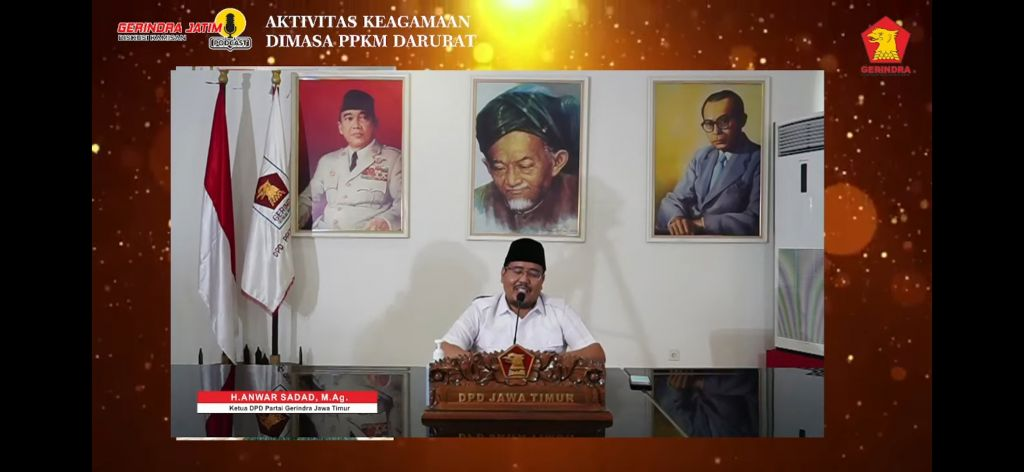 Ketua Gerindra Jatim, Anwar Sadad