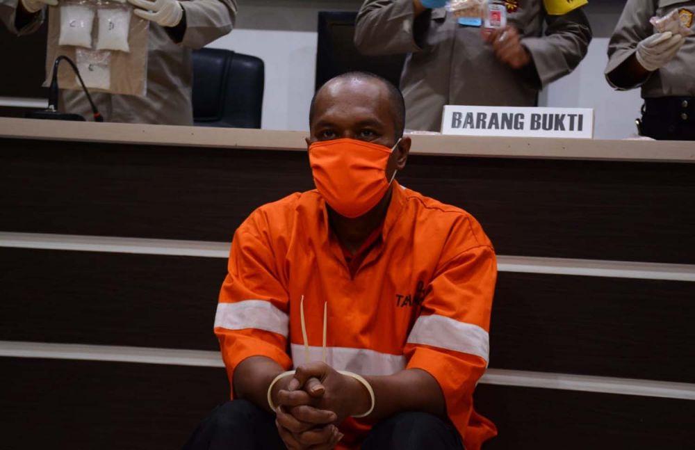 Tersangka SBR diamankan di Mapolresta Malang Kota