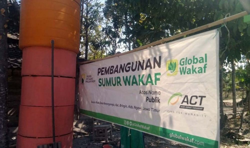 Sumur Wakaf, solusi jangka panjang kekeringan