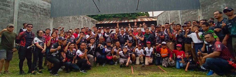 Para peserta Surabaya Airsoft Tournament 2019