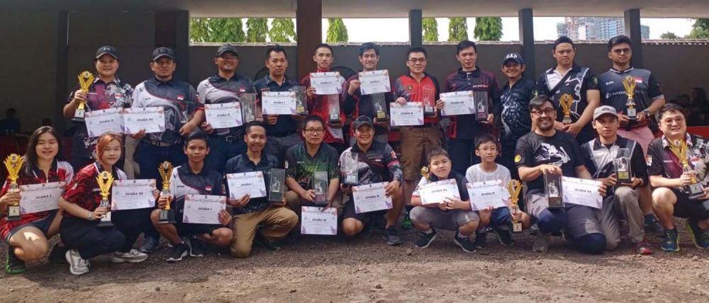 Para pemenang Surabaya Airsoft Tournament 2019