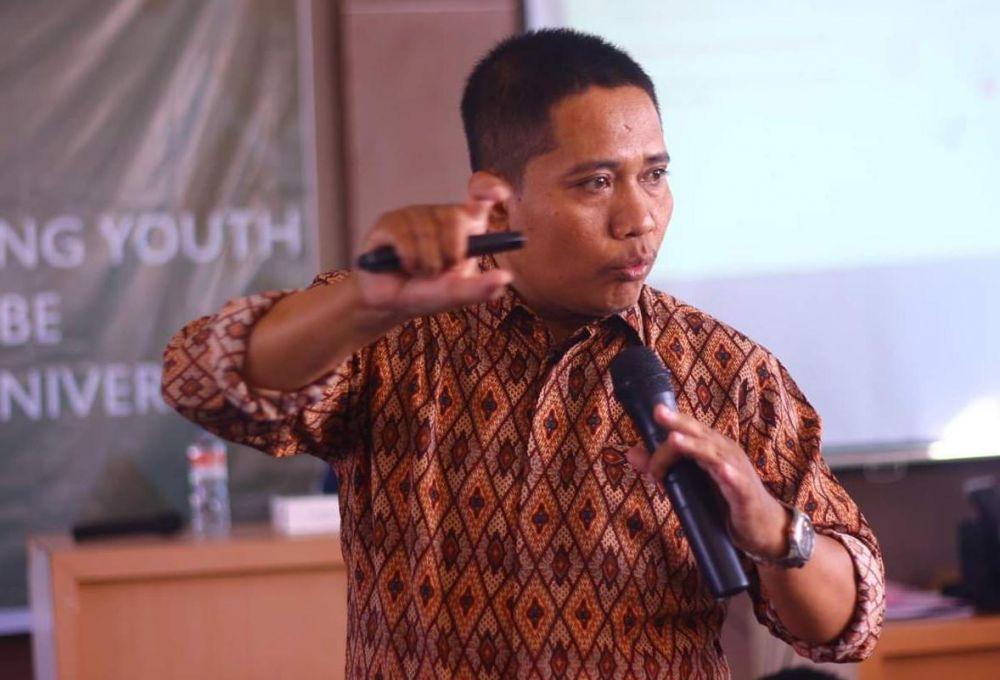 Peneliti Senior Surabaya Survei Center (SSC), Surokim Abdussalam.