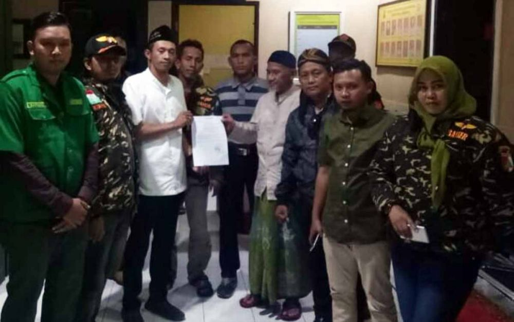 Tabayyun antara Salim Ahmad dan Banser difasilitasi Polrestabes Surabaya berakhir kekeluargaan