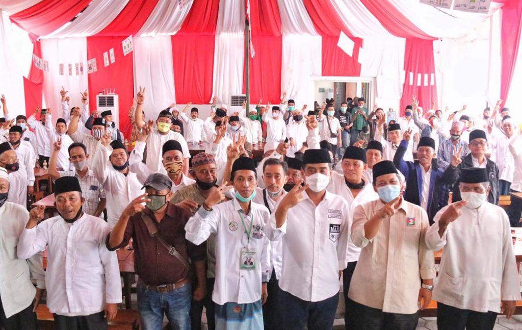 Takmir musala se Surabaya siap menangkan Machfud Arifin-Mujiaman (MAJU)