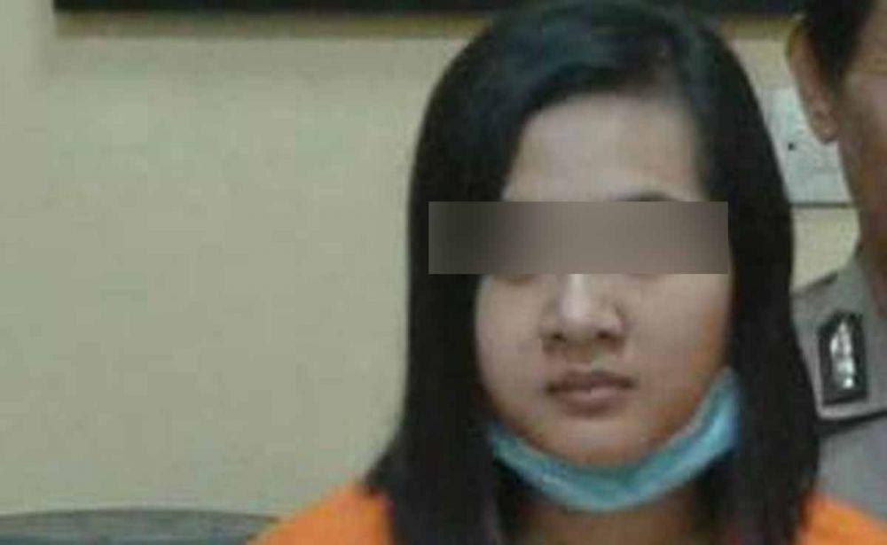 Teller bank yang diduga menggelapkan dana nasabah diamankan di Satreskrim Polres Mojokerto
