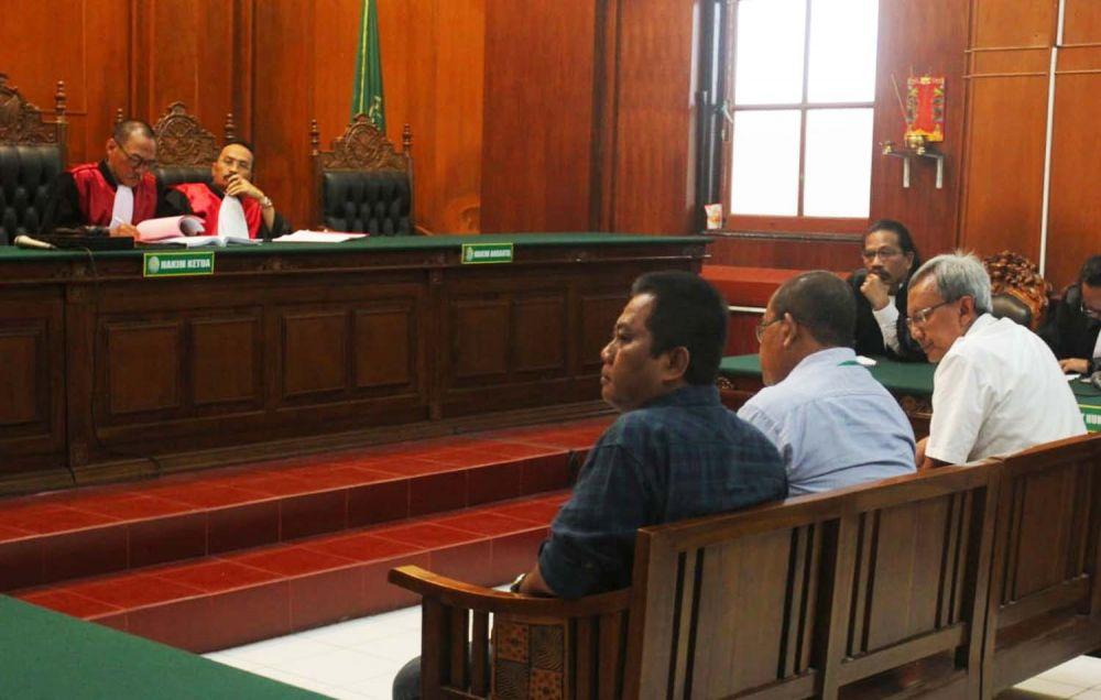 Sidang tuntutan kasus amblesnya Jalan Raya Gubeng di PN Surabaya