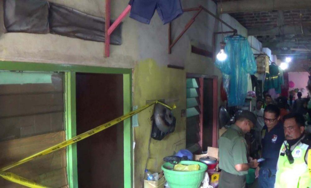 Kamar kos wanita tukang pijat di Surabaya yang ditemukan tewas telanjang