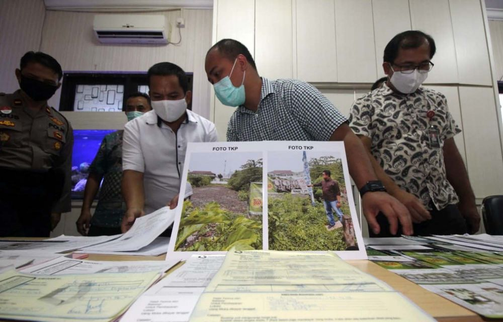 Unit Harda Satreskrim Polrestabes Surabaya kembali membongkar praktik nakal pengembang perumahan