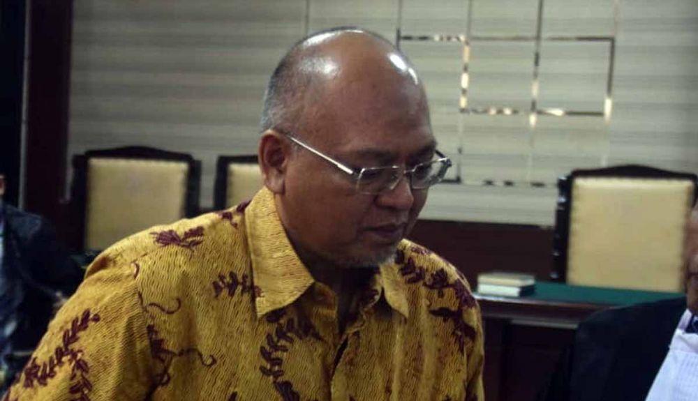 Bupati Malang Nonaktif Rendra Kresna di Pengadilan Tipikor Surabaya