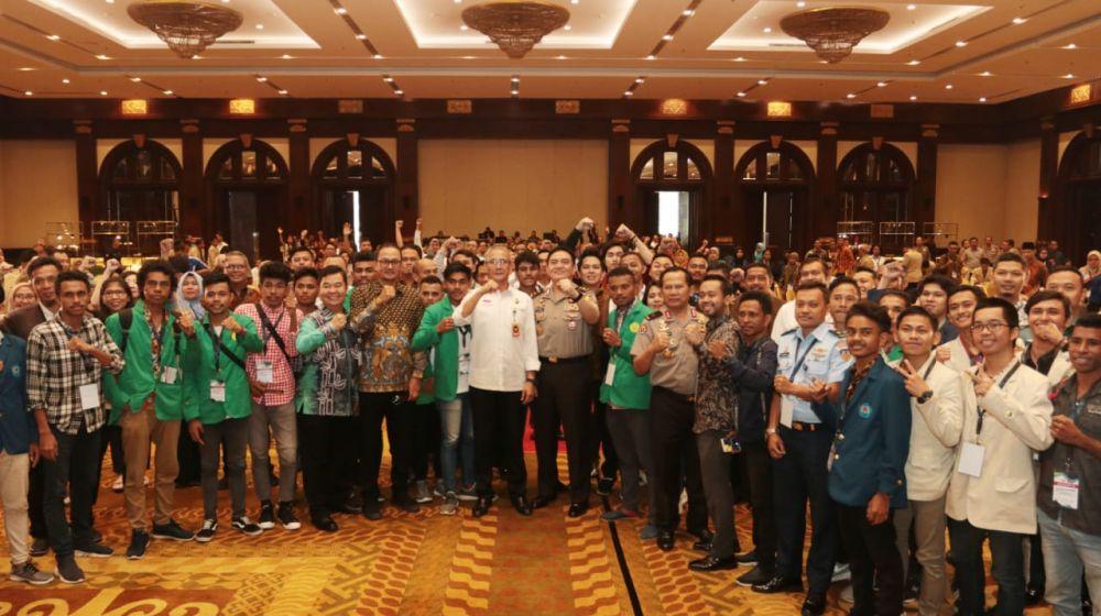 Para peserta Seminar Nasional Strategi Manajemen Media di Era Disrupsi 4.0 untuk Indonesia Maju