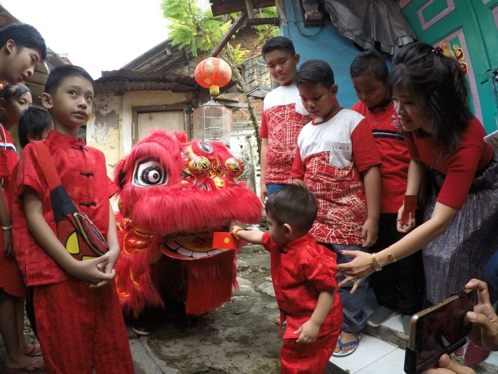 Perayaan Imlek 2020 di Kampung Pecinan, Surabaya