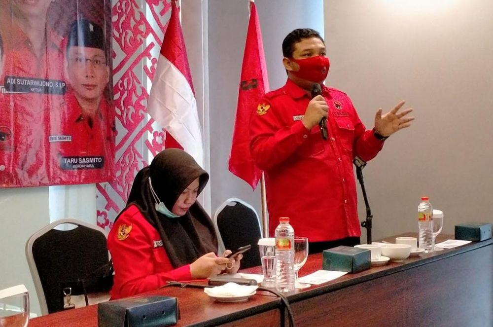 Rapat internal PDIP Surabaya