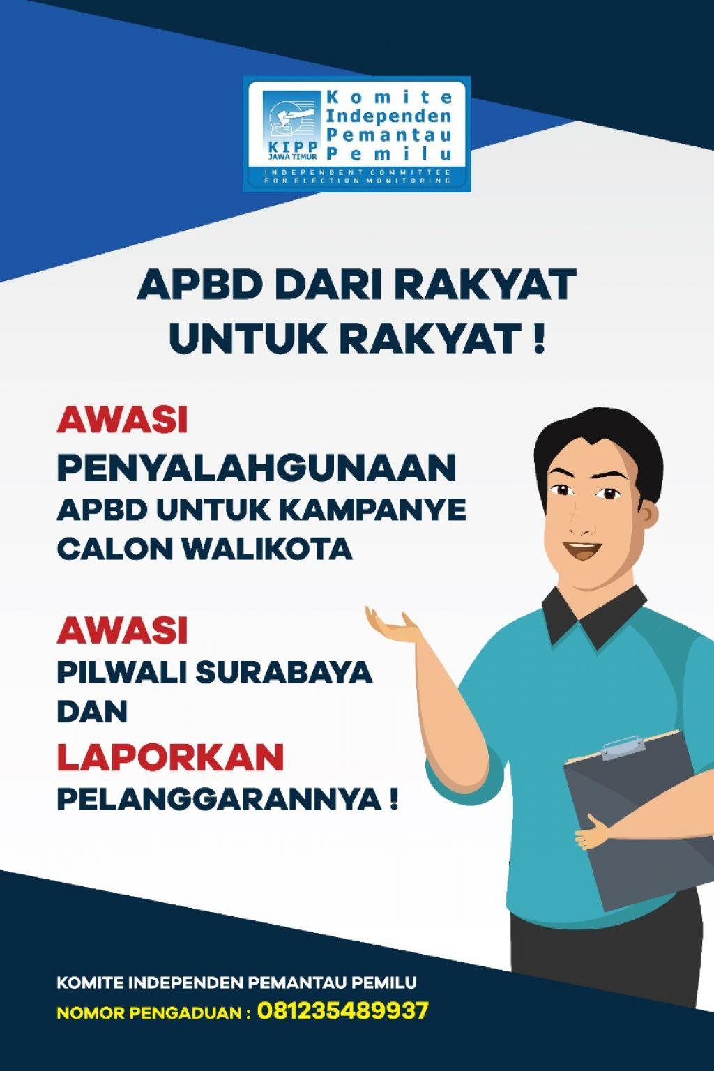 Imbauan Komite Independen Pemantau Pemilu (KIPP) Jawa Timur terkait Pilkada
