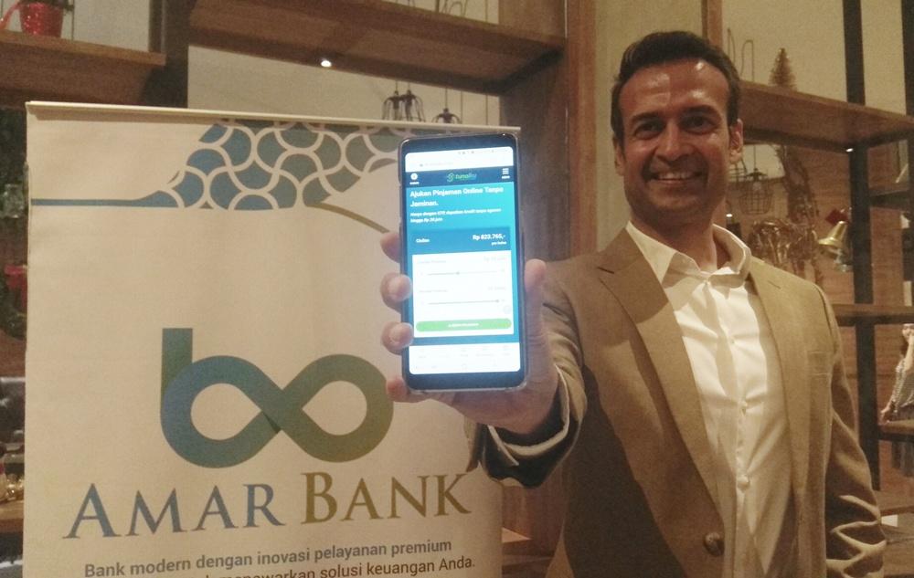 Amar Bank Klaim Capai Aset Rp 1,7 Triliun di Usia 27 Tahun