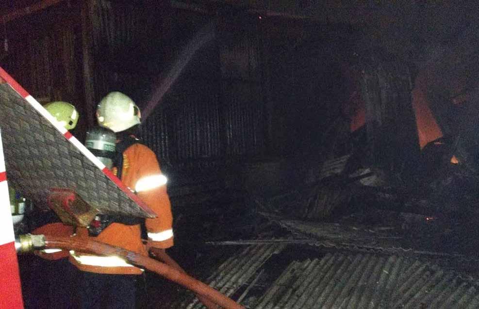 Kebakaran kedua di Jalan Jelidro No.22 Sambikerep, Surabaya