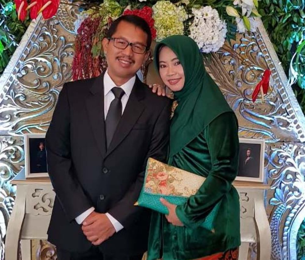 Didik Farkhan dan istri