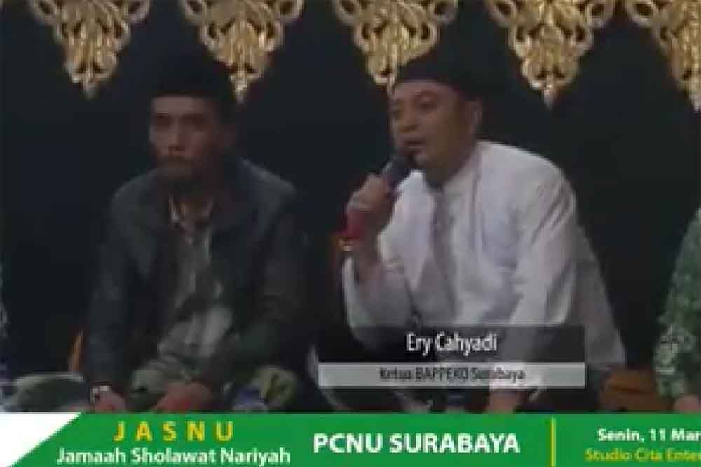Eri Cahyadi dan Muhibbin/capture video