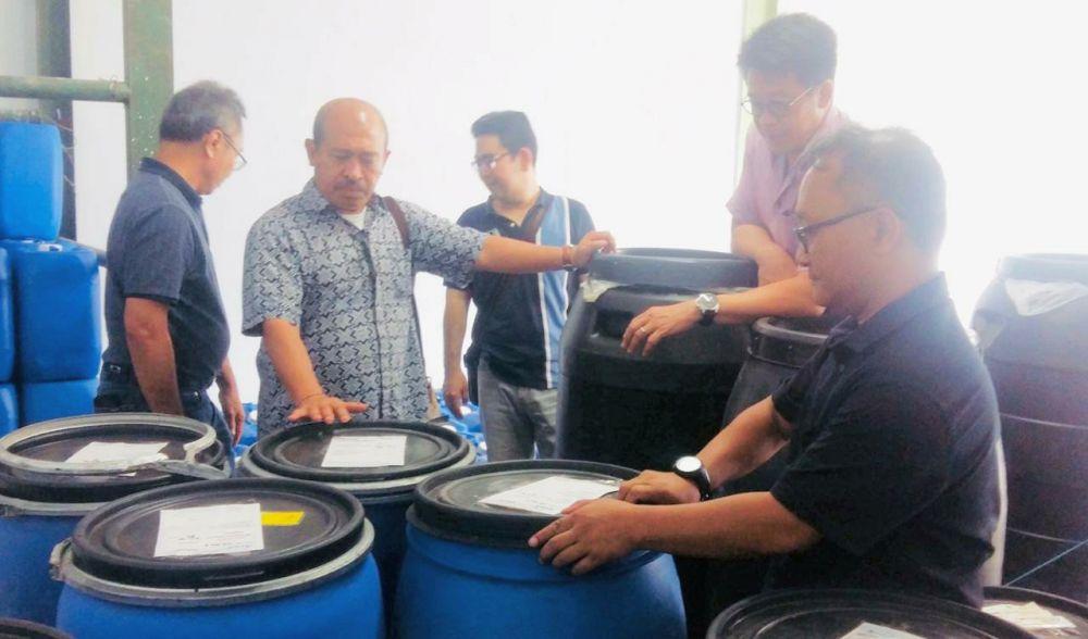 Prof. Higa apresiasi beroperasinya pabrik PRO EM-1 di Indonesia