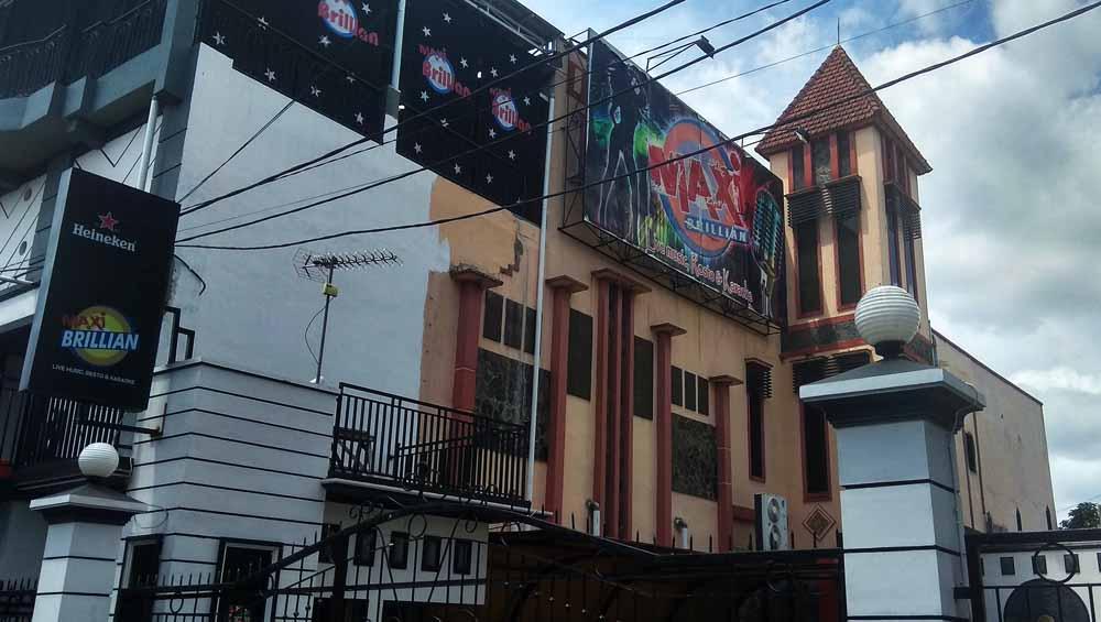 Rumah karaoke di Blitar yang digerebek polisi/ Foto: CF Glorian