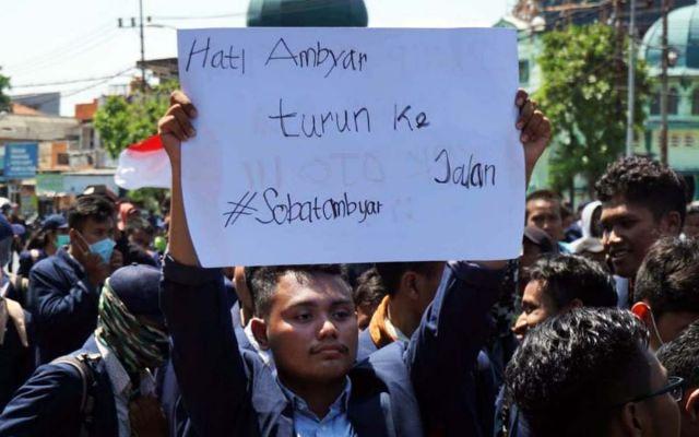 Demo Mahasiswa Surabaya 26 September Siswa Tk Hingga Smp