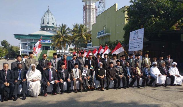 Konferensi Aauf Di Unida Gontor Bahas 3 Poin Kerjasama Antar Negara