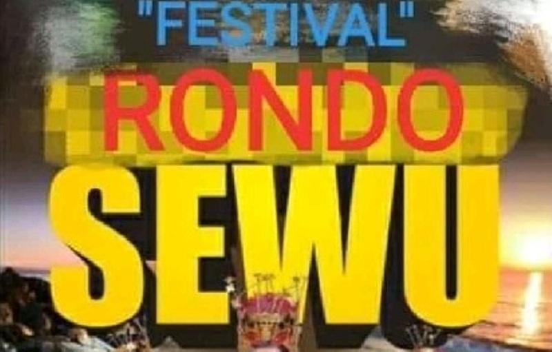 Screenshot meme Festival Rondo Sewu yang diunggah oleh akun Facebook bernama Muhammad Helmy Rosyadi.