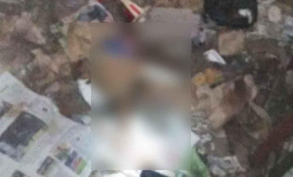 Potongan tubuh manusia yang ditemukan di Malang