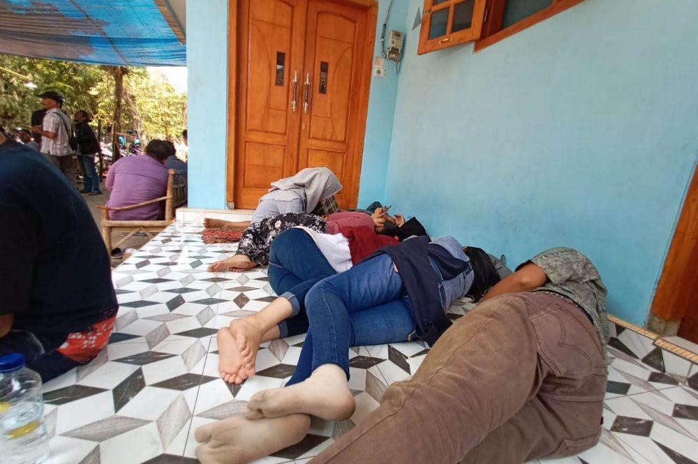 Suasana di sekitar lokasi terapi Ningsih Tinampi