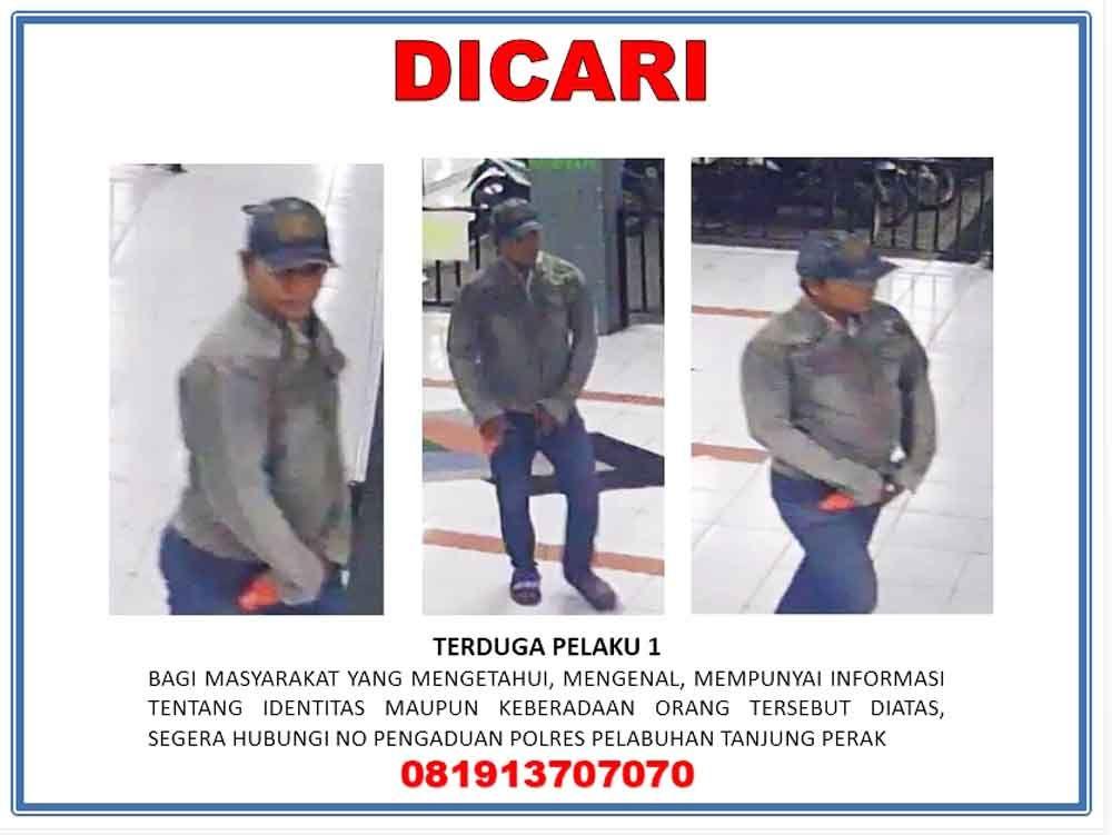 Terekam CCTV Mantan Istri, Ini Ciri-ciri Terduga Pelaku Pembunuhan Wartawan di Surabaya